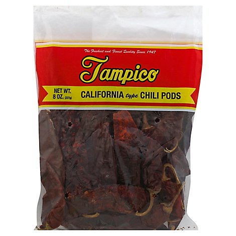 Tampico Spices Chile Pods California - 8 Oz