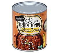 Signature SELECT Beans Refried Traditional Can - 31 Oz