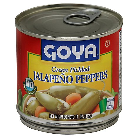 Goya Peppers Jalapeno Green Pickled Can - 11 Oz