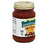 Green Mountain Gringo Salsa Mild Jar - 16 Oz