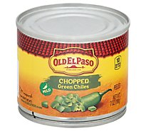Old El Paso Green Chiles Chopped Can - 7 Oz