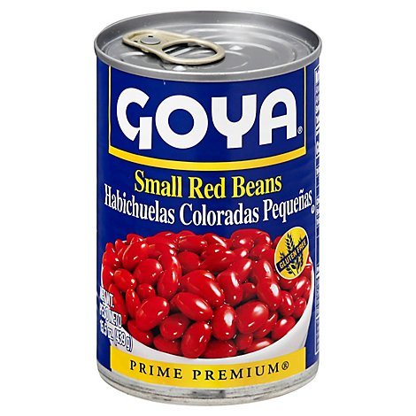 Goya Beans Premium Small Red - 15.5 Oz