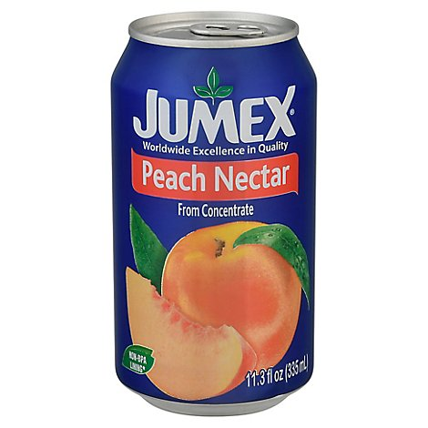 Jumex Nectar From Concentrate Peach Can - 11.3 Fl. Oz.