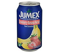 Jumex Nectar From Concentrate Strawberry-Banana Can - 11.3 Fl. Oz.