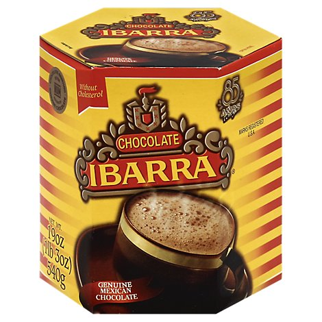 Ibarra Drink Tablets Hot Chocolate Mexican Box - 6-3.17 Oz