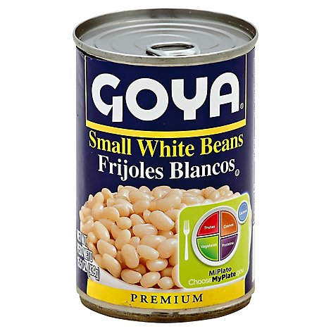 Goya Beans Premium Small White - 15.5 Oz