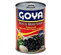 Goya Soup Black Bean Can - 15 Oz
