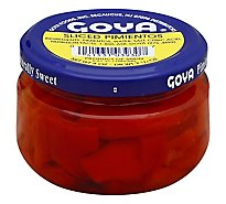 Goya Pimientos Sliced Jar - 4 Oz