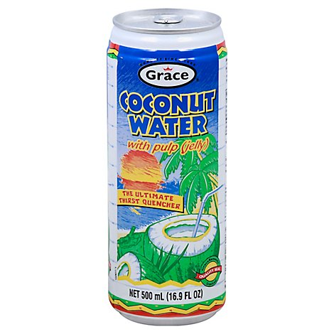 Grace Coconut Water - 17.5 Fl. Oz.