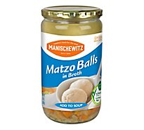 Manischewitz Matzo Ball In Broth - 24 Oz