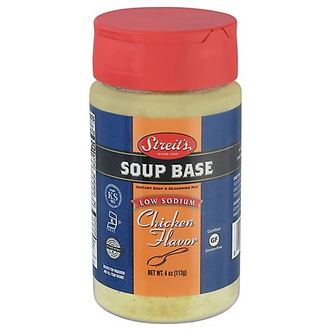 Streits Kosher Low Sodium Chicken Base - 5 Oz