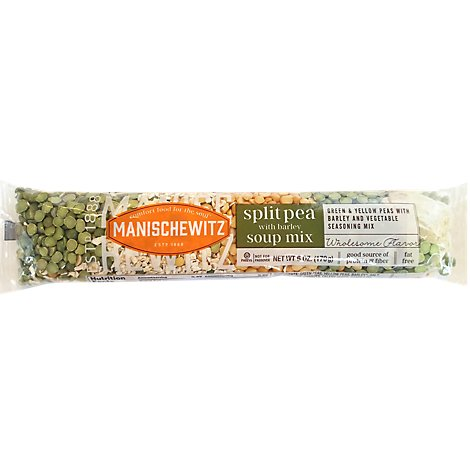 Manischewitz Split Pea Barley Soup Mix - 6 Oz