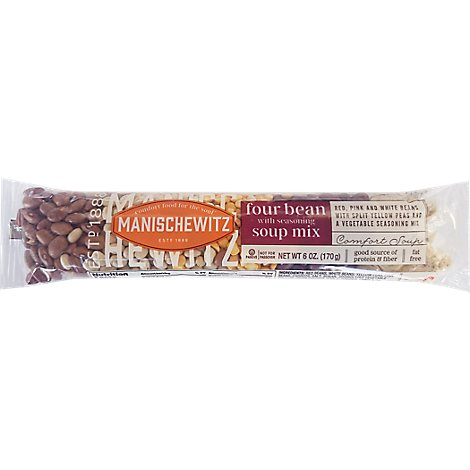 Manischewitz Four Bean Soup Mix - 6 Oz
