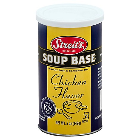 Streits Chicken Flavor Soup Base - 5 Oz