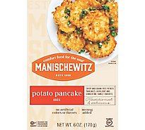 Manischewitz Pancake Mix Potato - 6 Oz