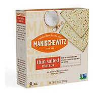 Manischewitz Specialty Food Thin Matzo Salted - 10 Oz