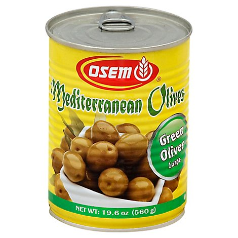 Osem Olives Mediterranean Green Large - 19.6 Oz