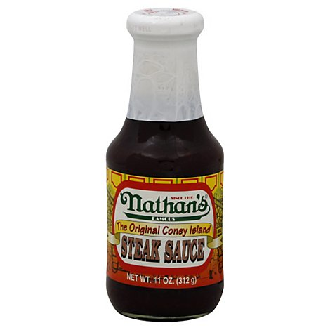 Nathans Famous Steak Sauce Original - 11 Oz