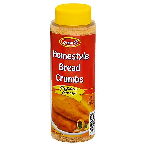 Osem Bread Crumbs Homestyle Golden Crisp - 15 Oz