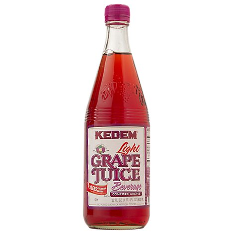 Kedem Light Grape Juice Beverage - 22 Fl. Oz.