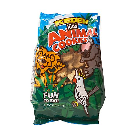 Kedem Kids Animal Cookies - 12 Oz