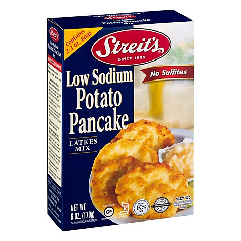 Streits No Salt Potato Pancake - 4.5 Oz