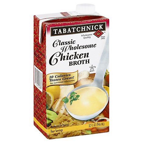 Tabatchnick Broth Classic Wholesome Chicken - 32 Fl. Oz.