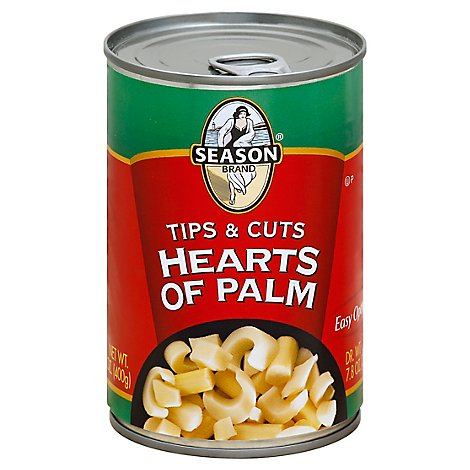 Season Hearts Of Palm Tips & Cuts - 14.1 Oz