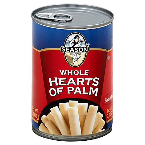 Season Whole Hearts Of Palm - 14.1 Oz