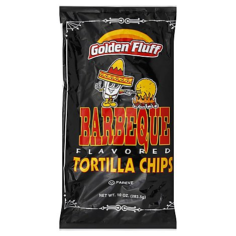 Golden Fluff Bbq Tortilla Chips - 10 Oz