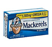 Season Canned Fish Fillet Of Mackerel - 4.37 Oz