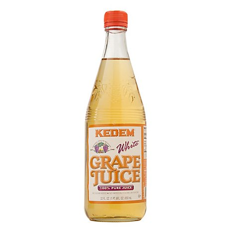 Kedem Natural White Grape Juice - 22 Fl. Oz.