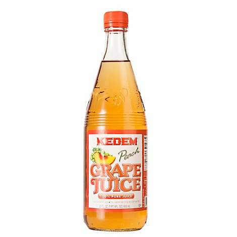Kedem Beverage Grape Peach Juice - 22 Fl. Oz.