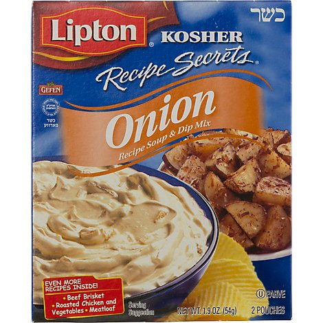Lipton Recipe Secrets Recipe Soup & Dip Mix Onion Recipe - 2 Count