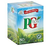PG Tips Brooke Bond Tea Bags - 80 Count
