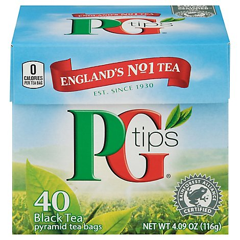 PG Tips Black Tea - 40 Count