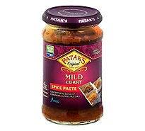 Pataks Mild Curry Paste - 10 Oz