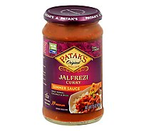 Pataks Cooking Sauce Sweet Pepper & Coconut - 14.6 Oz