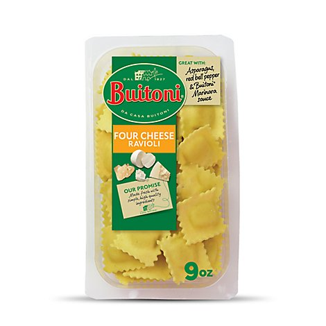 Buitoni Ravioli Four Cheese - 9 Oz