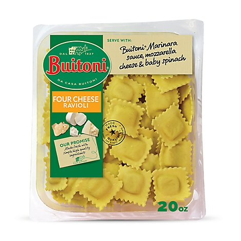 Buitoni Ravioli Four Cheese - 20 Oz