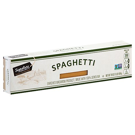 Signature SELECT Pasta Spaghetti Box - 16 Oz