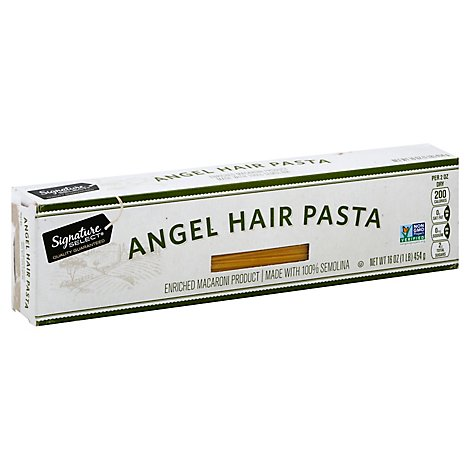 Signature SELECT Pasta Angel Hair Box - 16 Oz