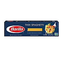 Barilla Pasta Spaghetti Thin No. 3 Box - 16 Oz