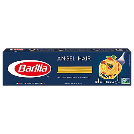 Barilla Pasta Angel Hair No. 1 Box - 16 Oz