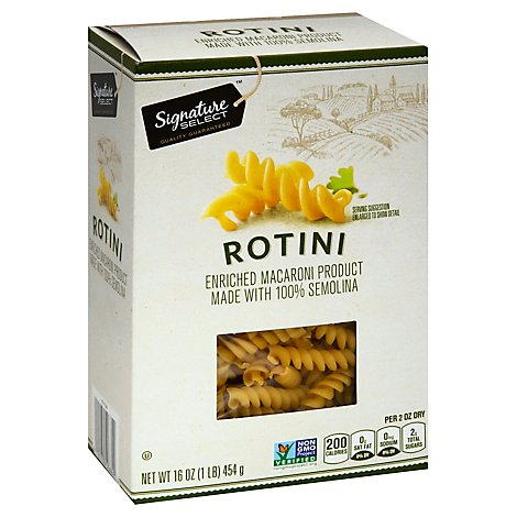 Signature SELECT Pasta Rotini Box - 16 Oz