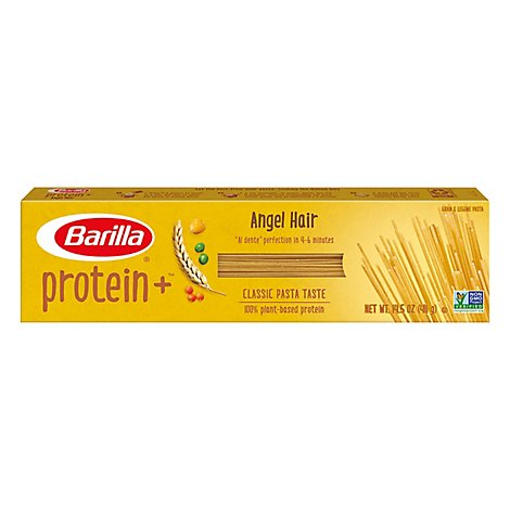 Barilla ProteinPLUS Pasta Angel Hair Box - 14.5 Oz
