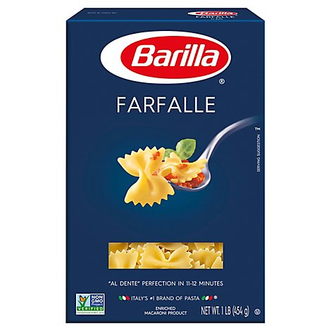 Barilla Pasta Farfalle No. 65 Box - 16 Oz