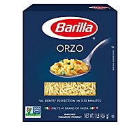Barilla Pasta Orzo No. 26 Box - 16 Oz