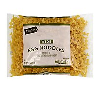 Signature SELECT Pasta Egg Noodles Wide Bag - 12 Oz