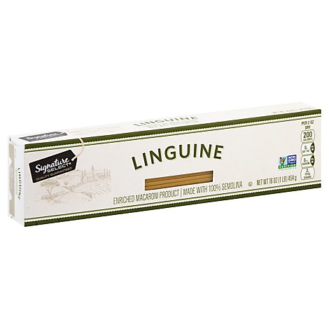 Signature SELECT Pasta Linguine Box - 16 Oz